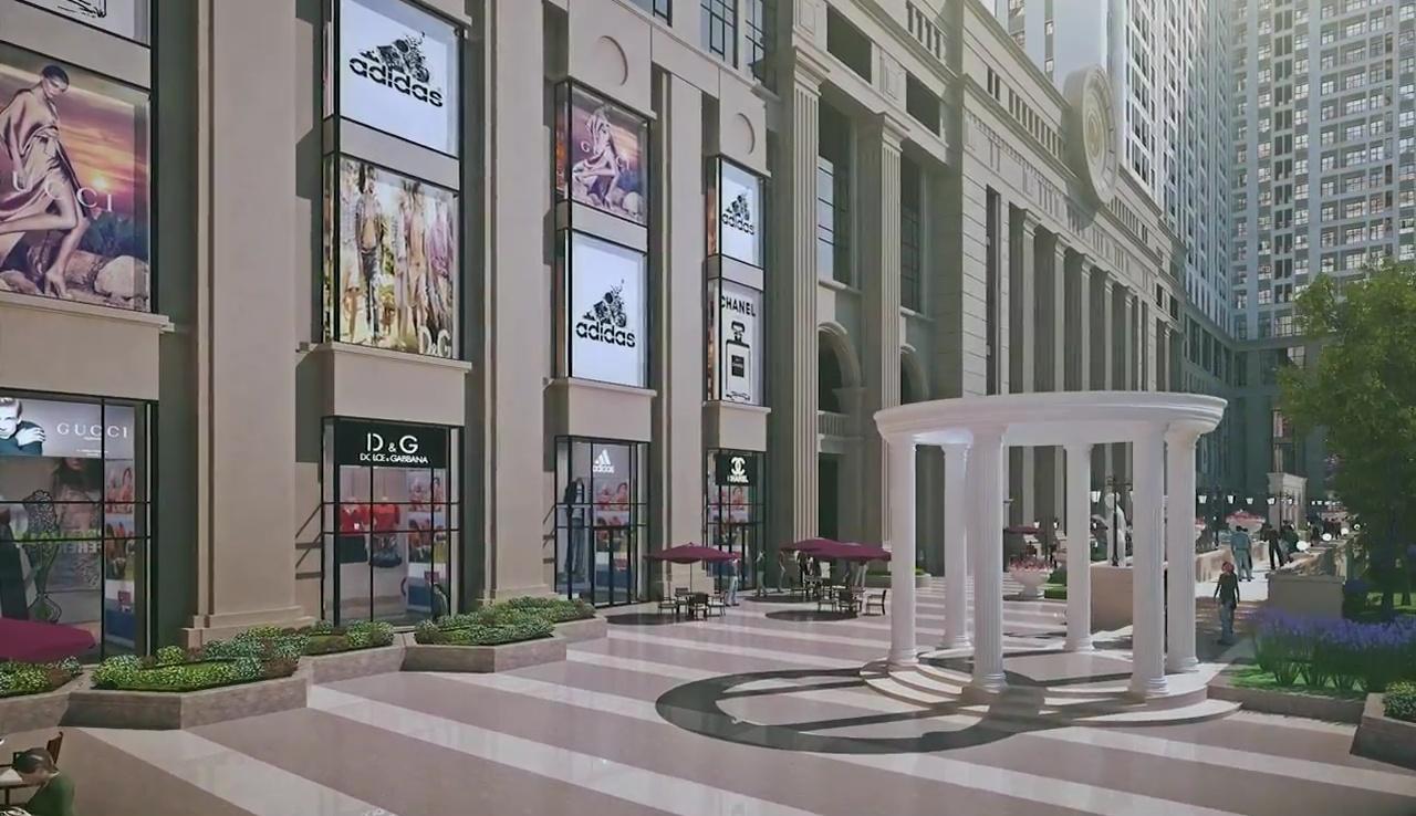Hệ thống trung tâm thương mại Roman Plaza