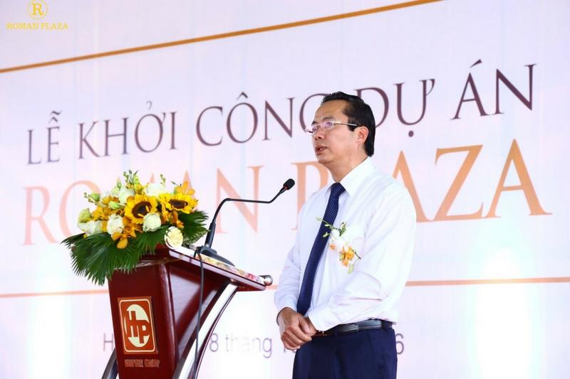 Trần Thanh Long tại Roman Plaza