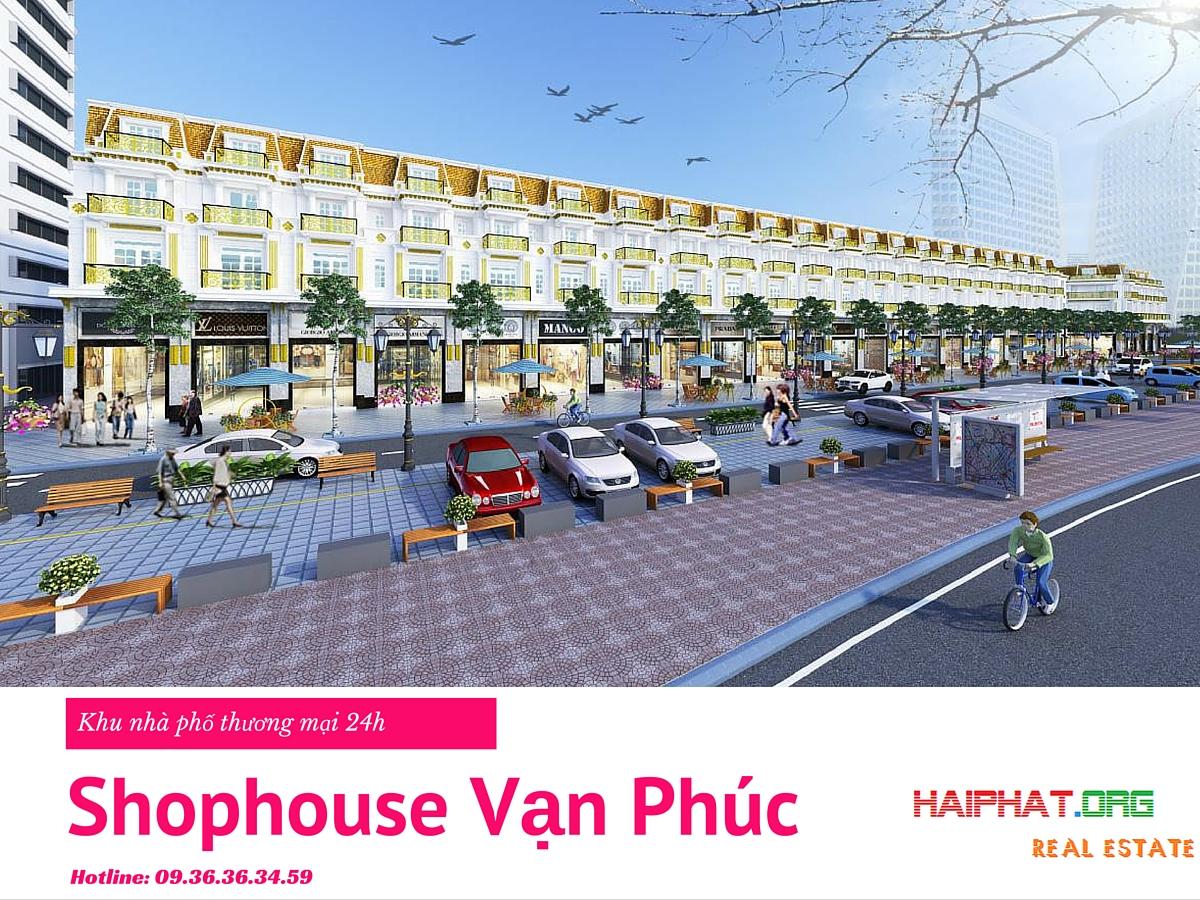 nhà phố thương mại 24h - CTCP Đầu tư Hải Phát