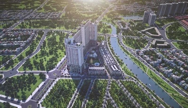 Tổ hợp dự án chung cư ROman Plaza