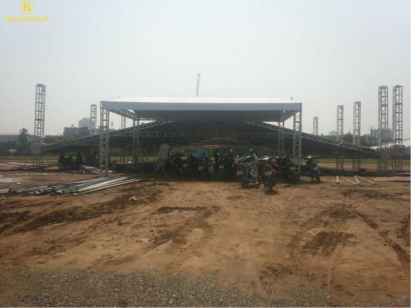 tiến độ xây dựng roman plaza 07 10