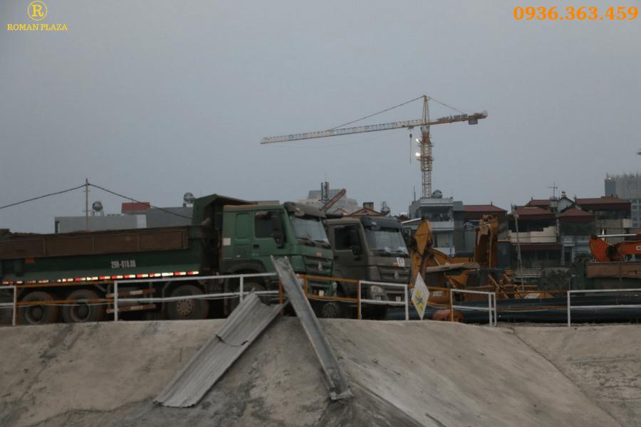 tiến độ roman plaza tố hữu tháng 2 2017
