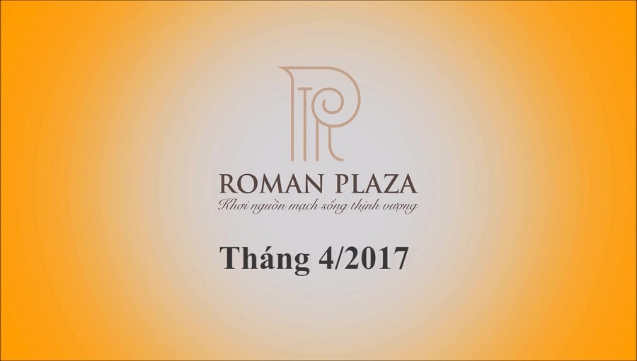 tiến độ roman plaza hải phát tháng 04 2017 ảnh 1