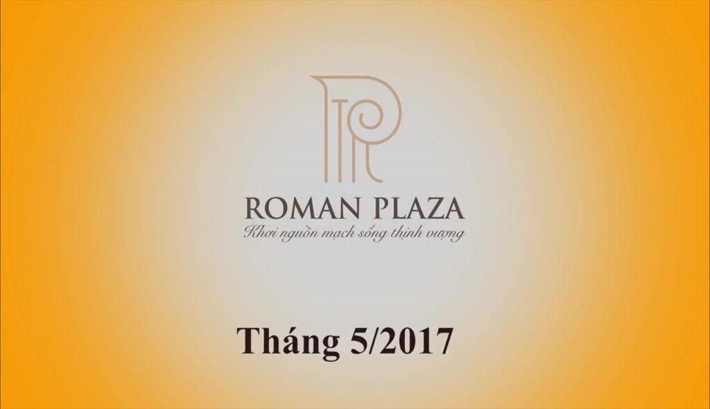 Tiến độ Roman Plaza tháng 5 2017 01