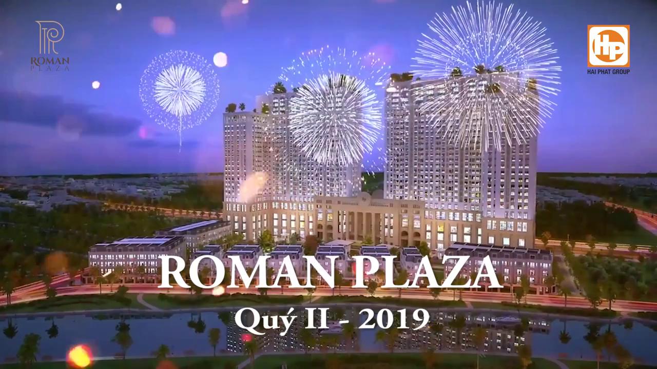 Tiến độ Roman Plaza tháng 6 2018 08