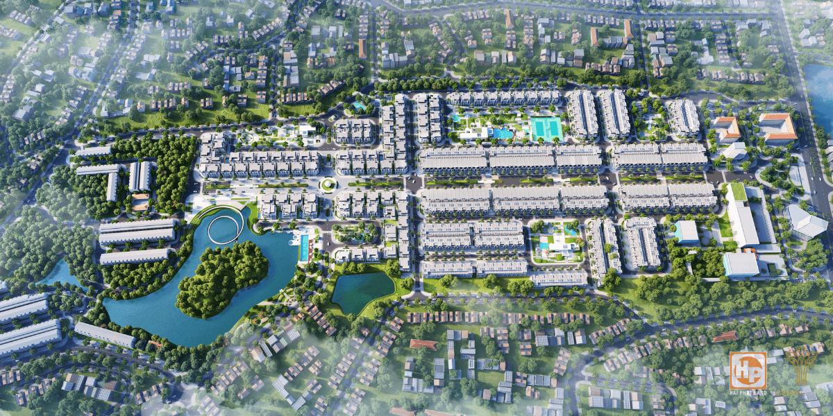 Dự án khu đô thị Crown Villas Thái Hưng