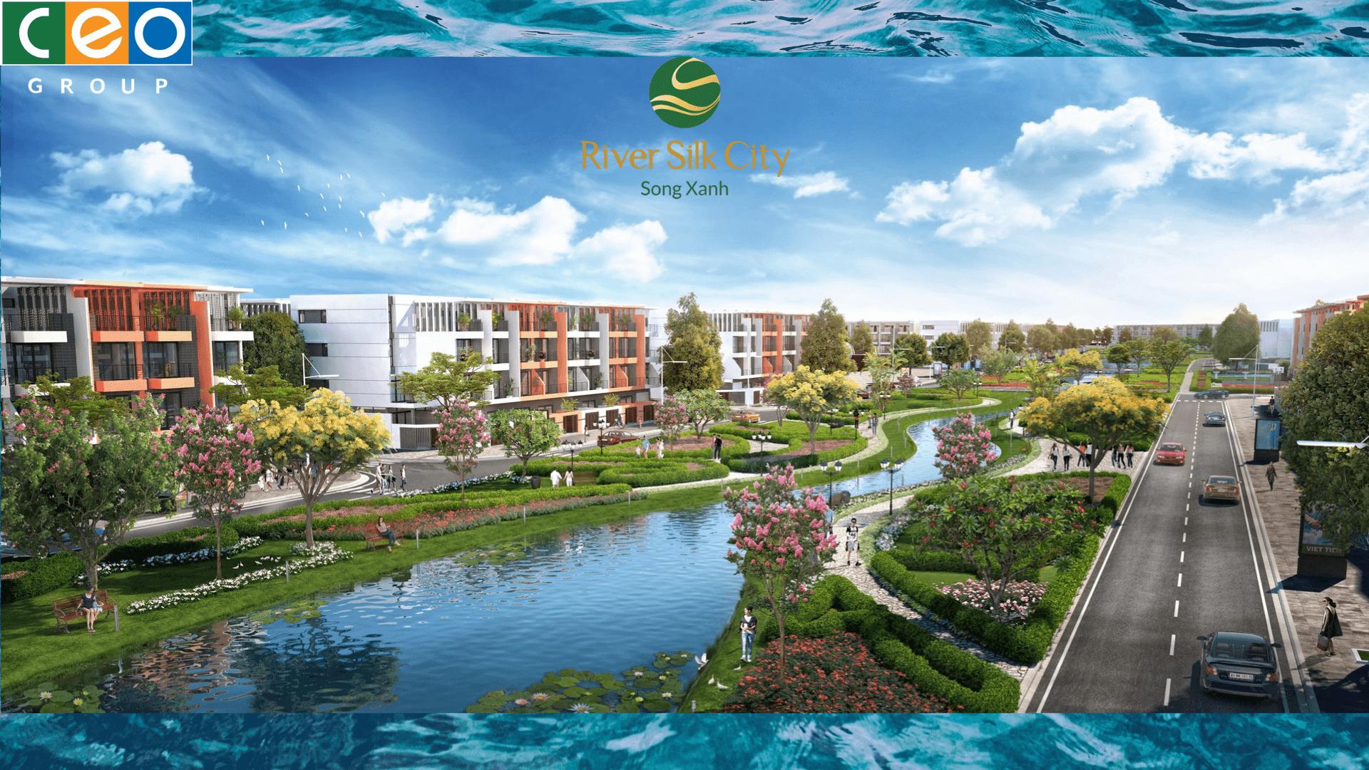 khu đô thị river silk city Hà Nam