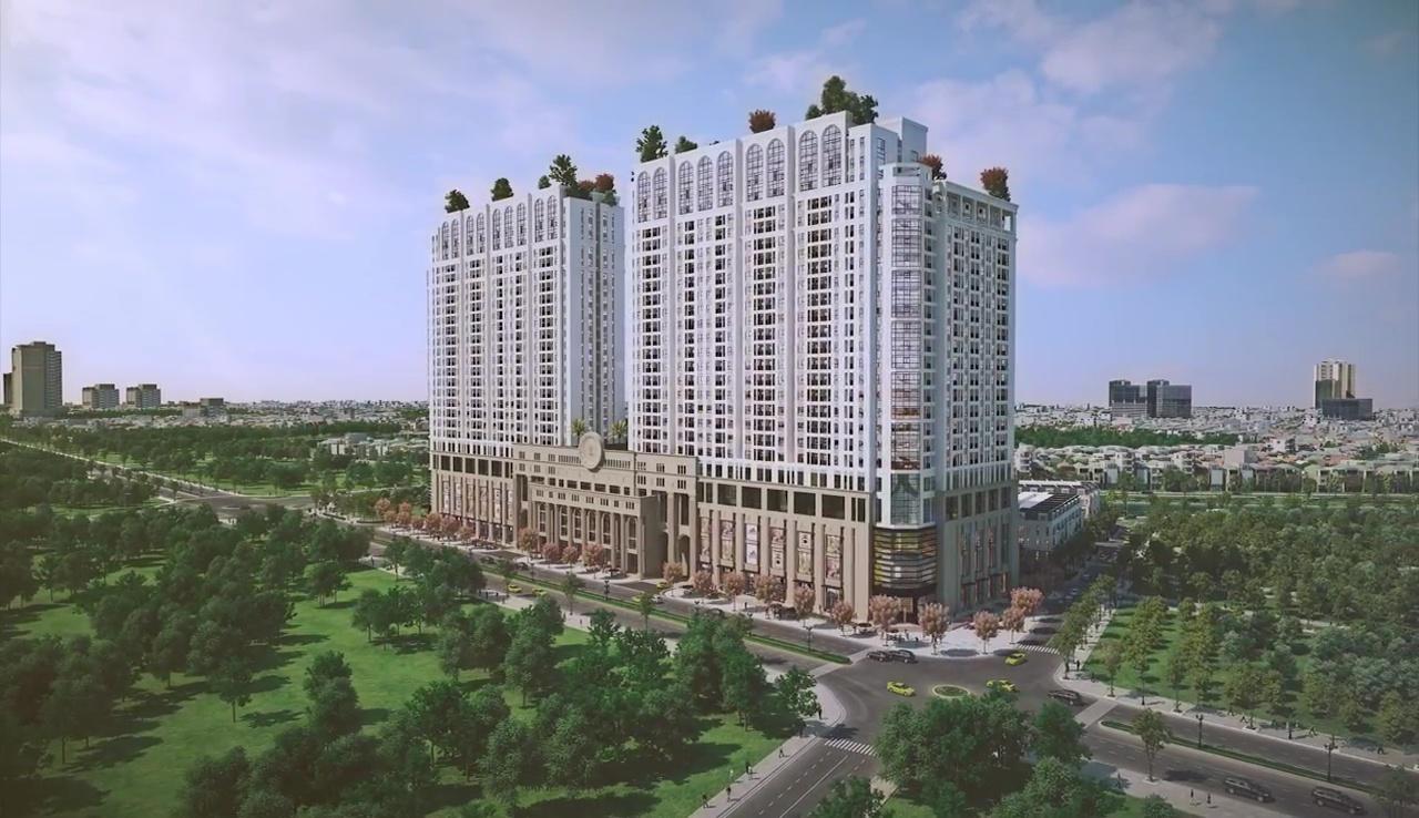 Phối cảnh dự án chung cư Roman Plaza