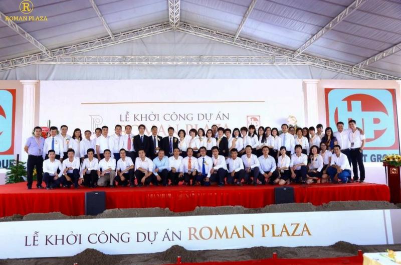 Khởi công dự án Roman Plaza